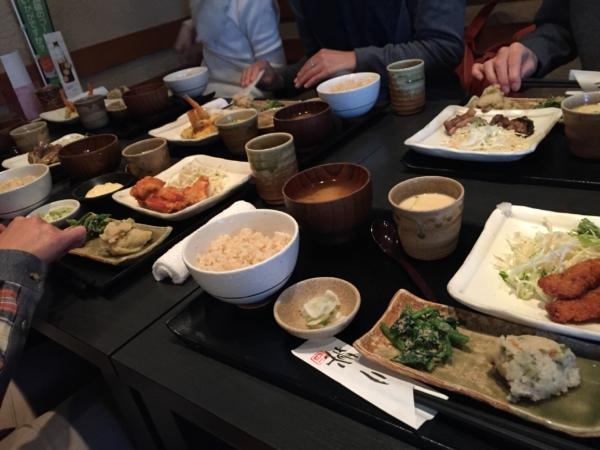 ある日のお食事会